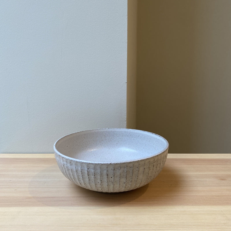 Carved Shino Bowl Large
