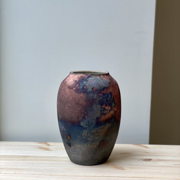 Large unique Raku Vase no. 4