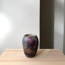 One of a kind Raku Vase