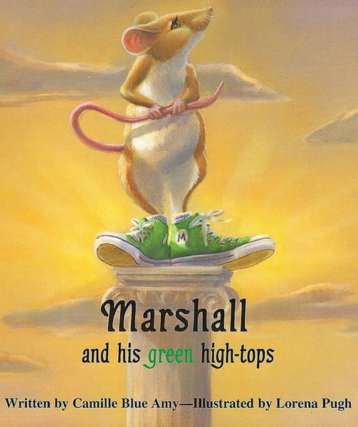 Marshall and his green high-tops