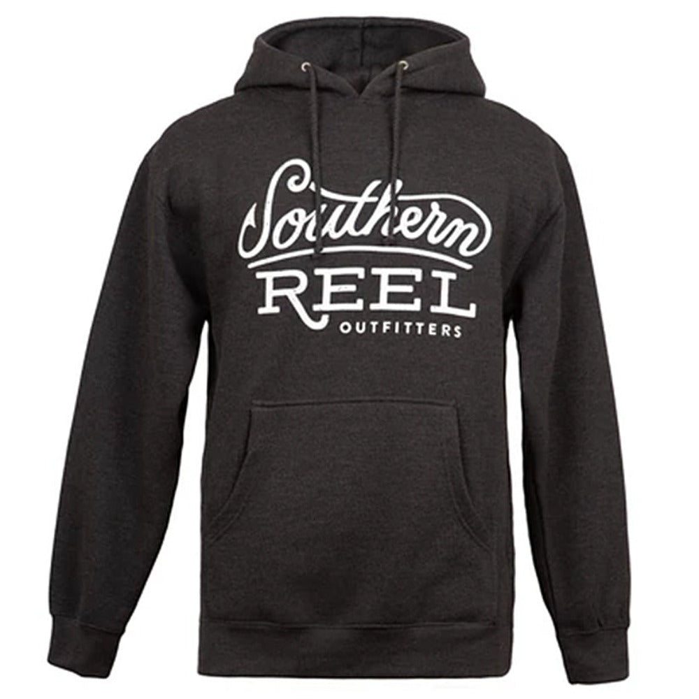 Southern Reel Outfitters Distressed Logo Hoodie
