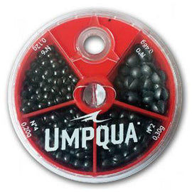 Umpqua 4 Way Splitshot Assortment