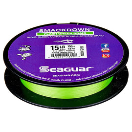 Seaguar Smackdown Braid Flash Green Line 150 Yd