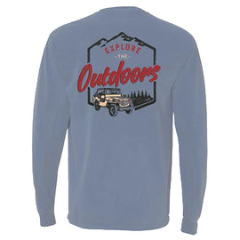 Southern Reel Outfitters Jeep Long Sleeve T-Shirt