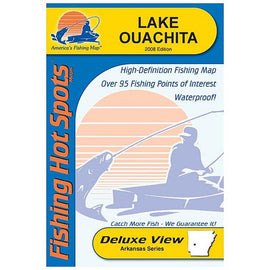 Fishing Hot Spots Lake Ouachita