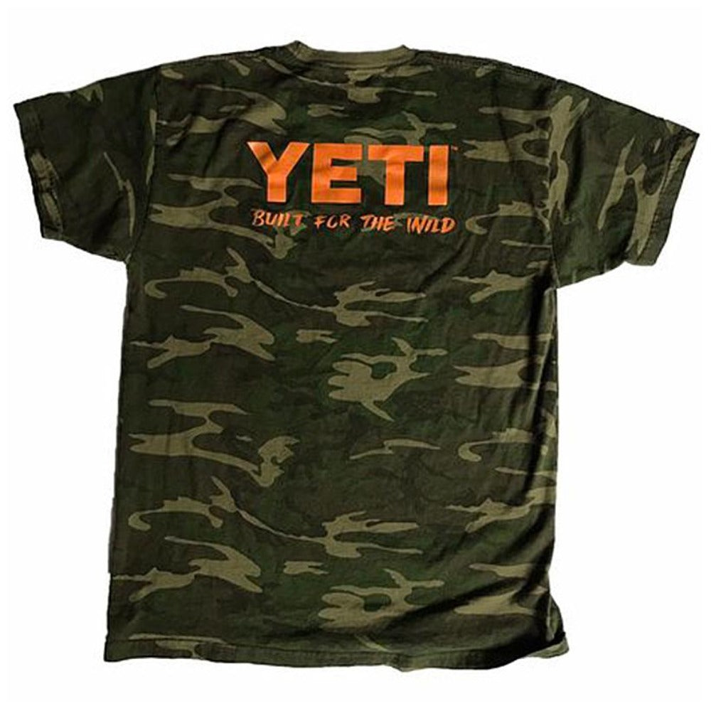 Yeti Built For The Wild Pocket Tee