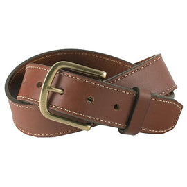 White Wing Leather Belt