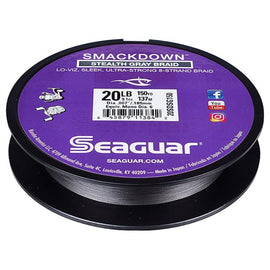 Seaguar Smackdown Braid Stealth Gray Line 150 Yd