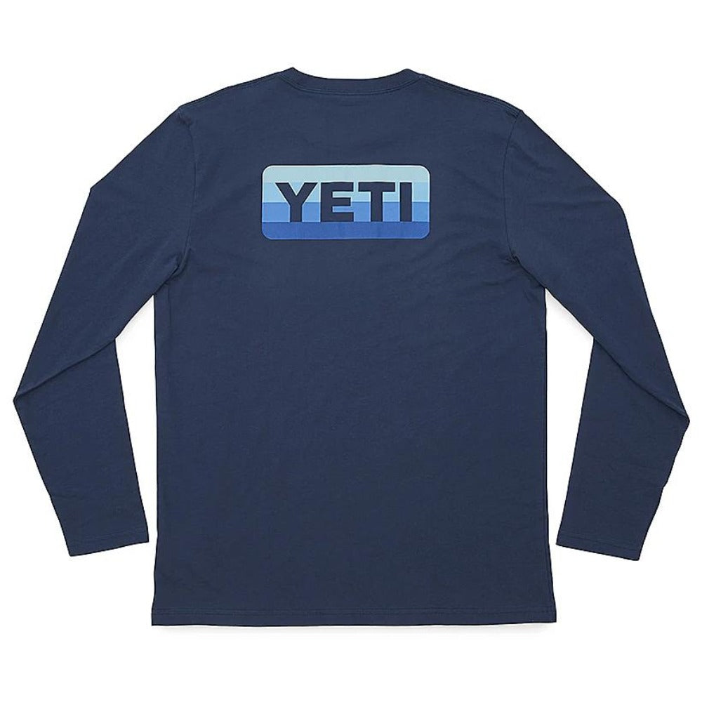 Yeti Logo Badge Long Sleeve T-Shirt
