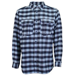 AFTCO Buffalo Bill Long Sleeve Flannel Tech Shirt