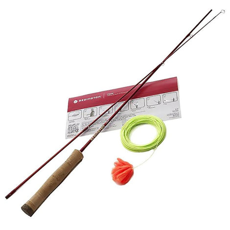 Redington 2 Piece Form Game Fly Fishing Rod with Line