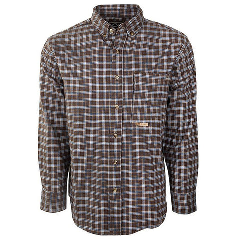 Drake Waterfowl Autumn Brushed Twill Shirt