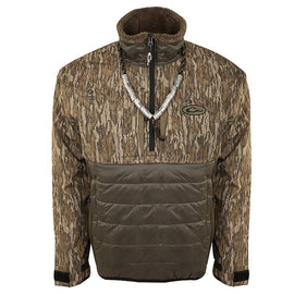 Drake Waterfowl LST Guardian Flex Double Down Eqwader 1/4 Zip Pullover