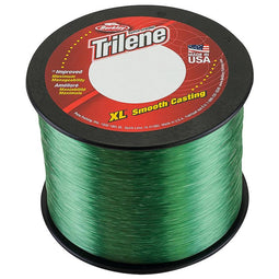 BERKLEY TRILENE XL FISHING LINE LOW VIS GREEN