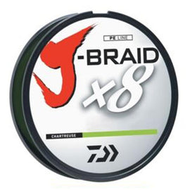 Daiwa J Braid X8 Braided Line Fishing Line