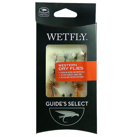 Wetfly Western Dry Selection | 12 Flies
