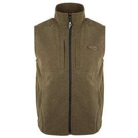 Drake Waterfowl Heather Windproof Layering Vest