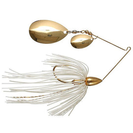 War Eagle Gold Spinnerbait Double Colorado