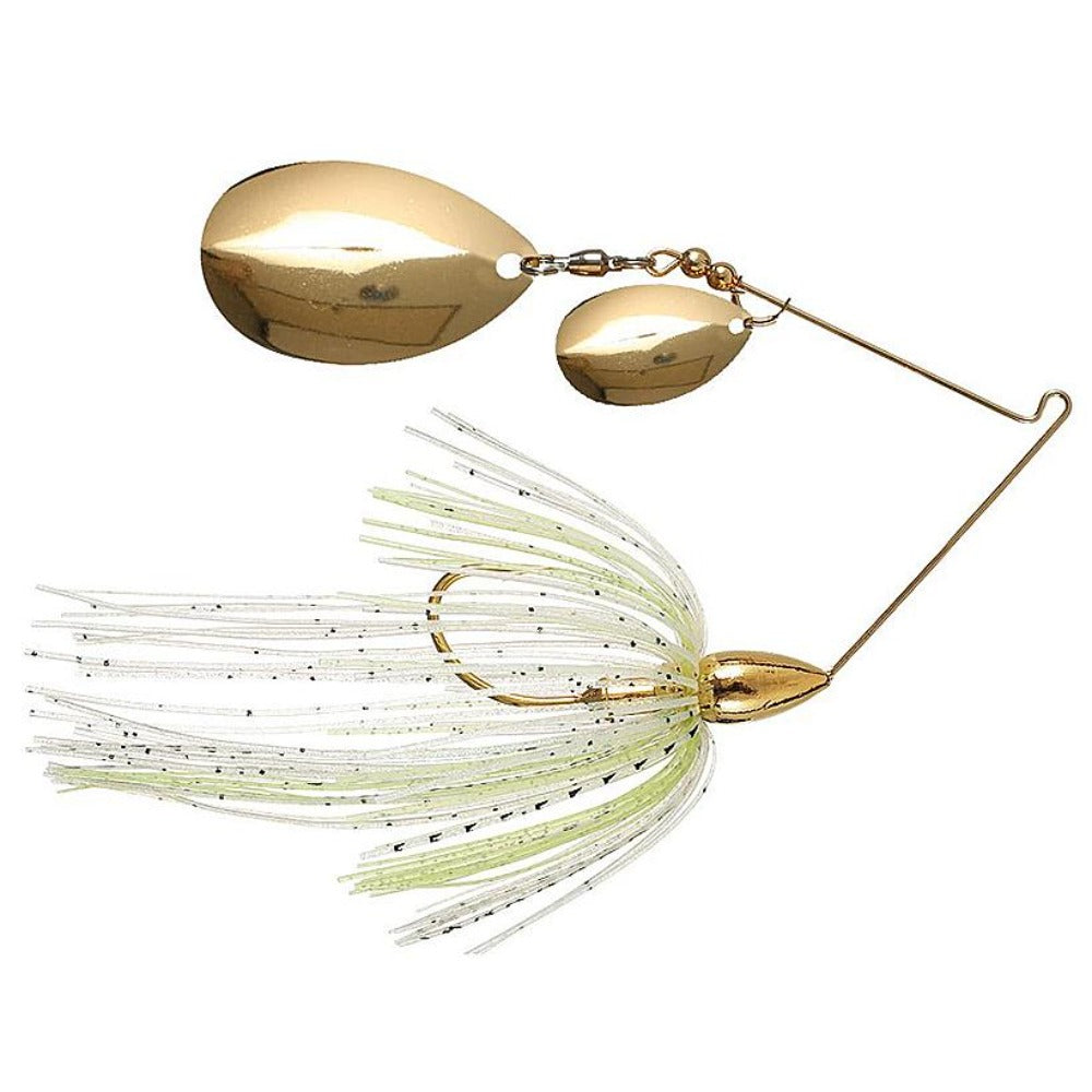 War Eagle Gold Double Colorado Spinnerbaits
