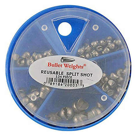Bullet Weights Reusable Split Shot Skillet Assortment