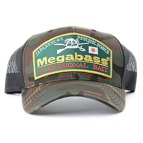 Megabass Throwback Trucker Hat (Camo)