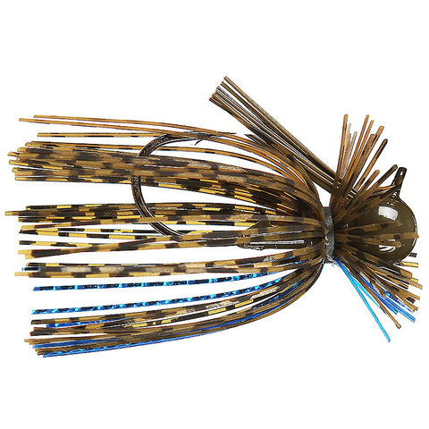 War Eagle Finesse Jigs BLACK BLUE CHART