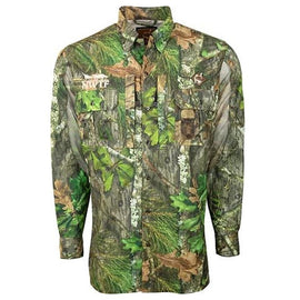 Drake Waterfowl Ol' Tom Vestless Mesh Back Shirt With Spline Pad