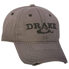 Drake Waterfowl Solid Distressed Cap