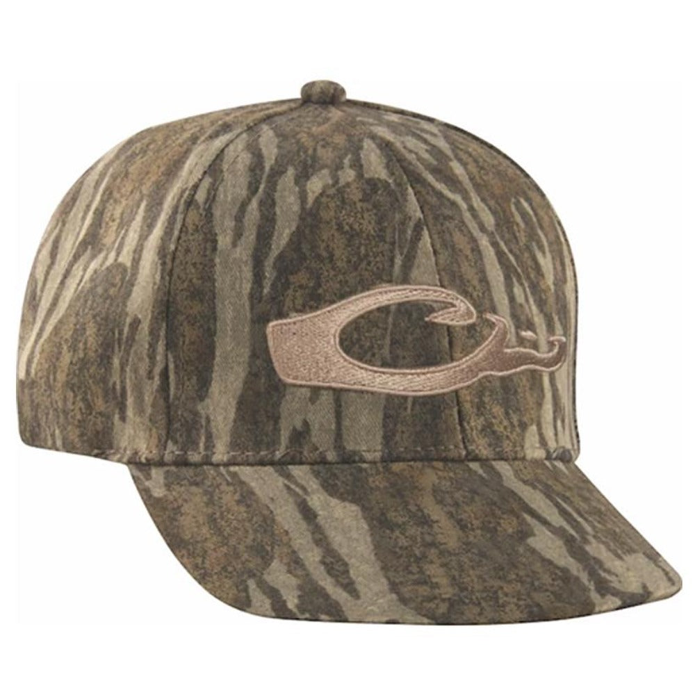 Drake Waterfowl Camo Flat Bill Hat - Southern Reel Outfitters