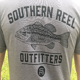 Southern Reel Outfitters Bass Printed T-Shirt