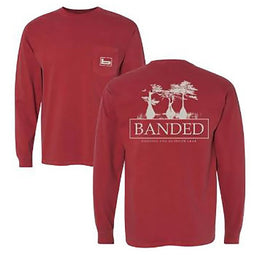 Banded Cypress Long Sleeve T-Shirt