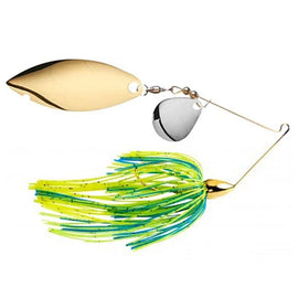 War Eagle Gold Spinnerbait Colorado Willow