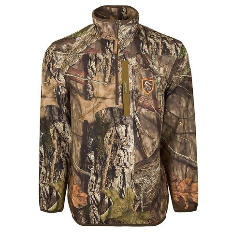 Drake Waterfowl Camo Tech 1/4 Zip Pullover with Agion Active XL™