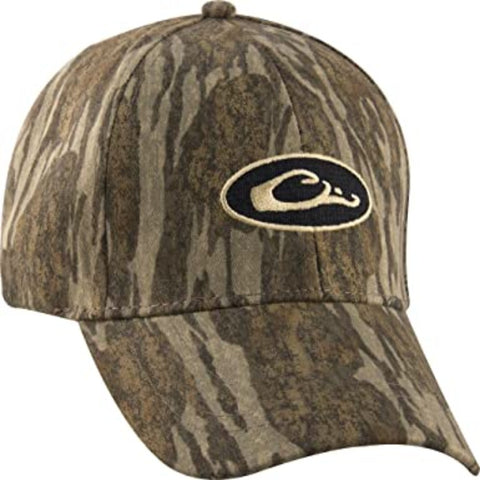 DRAKE WATERFOWL CAMO COTTON HAT