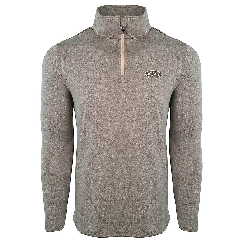 Drake Waterfowl Microlite Performance Half Zip Pullover
