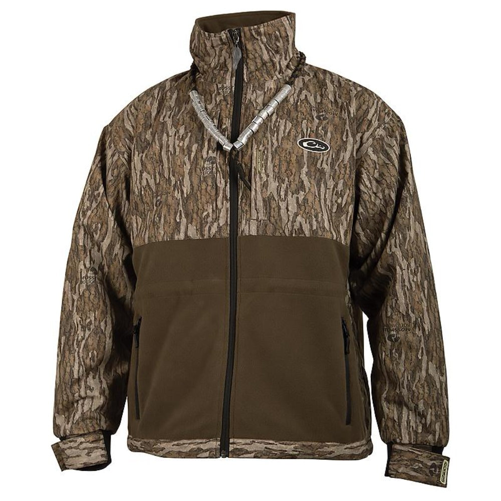 Drake Waterfowl MST Camo Eqwader Plus Full-Zip Jacket - Southern Reel Outfitters