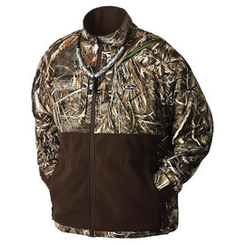 Drake Waterfowl MST Camo Eqwader Plus Full-Zip Jacket