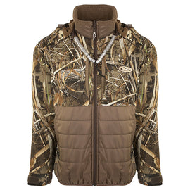 Drake Waterfowl LST Guardian Flex Double Down Eqwader Full Zip with Hood
