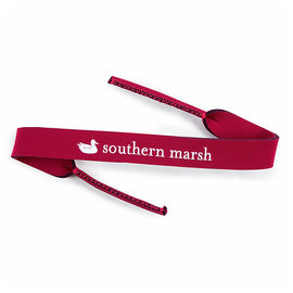 Southern Marsh Gingham Sunglass Strap