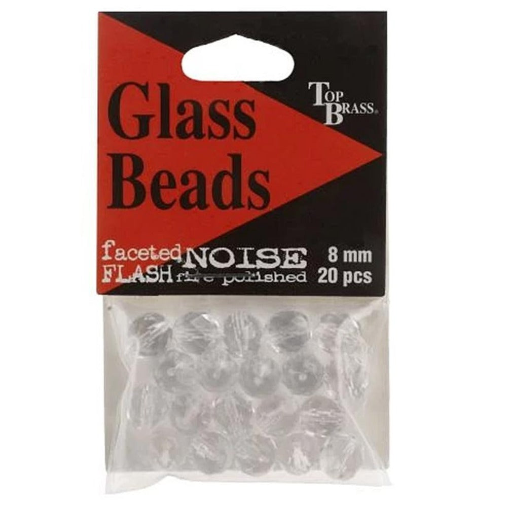 Top Brass Glass Beads