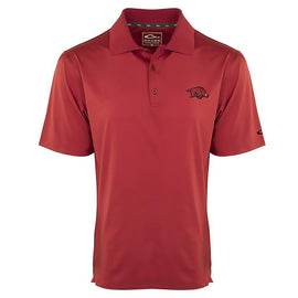 Drake Waterfowl Arkansas Performance Stretch Polo Shirt