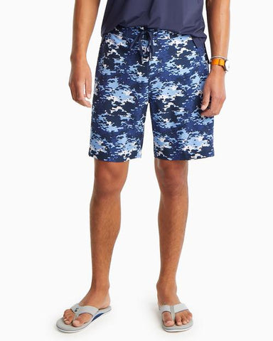 SOUTHERN TIDE MEN'S GRAFFITI CAMO SWIM SHORT