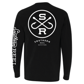 Southern Reel Outfitters Comfort Colors Long Sleeve Pocket T-Shirt
