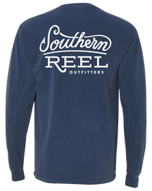 Southern Reel Outfitters Logo Long Sleeve T-Shirt