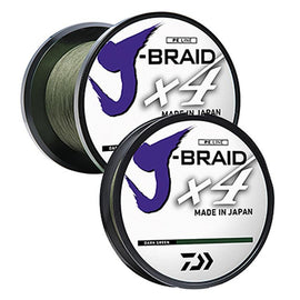 Daiwa J Braid X4 Fishng Line