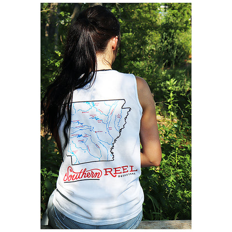 Southern Reel Outfitters Arkansas Lakes & Rivers Woman's Tank