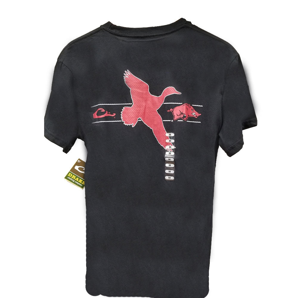 Drake Arkansas Razorbacks Duck S/S T-Shirts