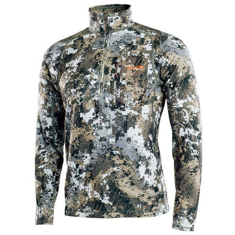 Sitka Core Midweight Zip T LS Pullover