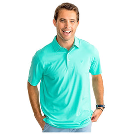 Southern Tide Driver Heathered Performance Polo SS Shirt