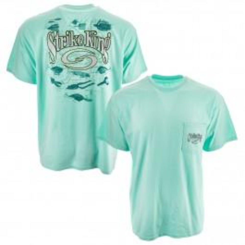Strike King Lure Short Sleeve T-Shirt W/Pocket
